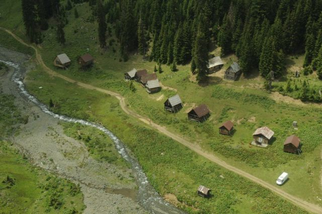 Aerial View of Bakhmaro