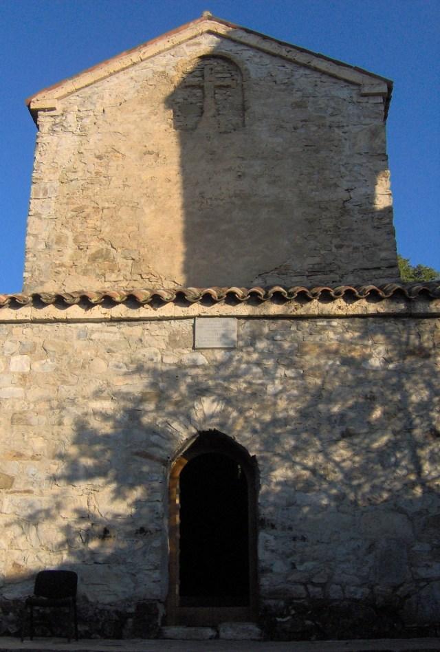 Blessed Virgin Church (VI-VII century) at Nekresi Monastery. Photo by G.N., via Wikimedia Commons