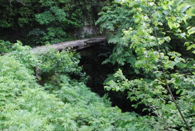 Chkheri Stone Bridge in Khelvachauri District of Ajara