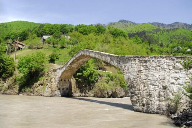 Dandalo Bridge in Keda District of Ajara