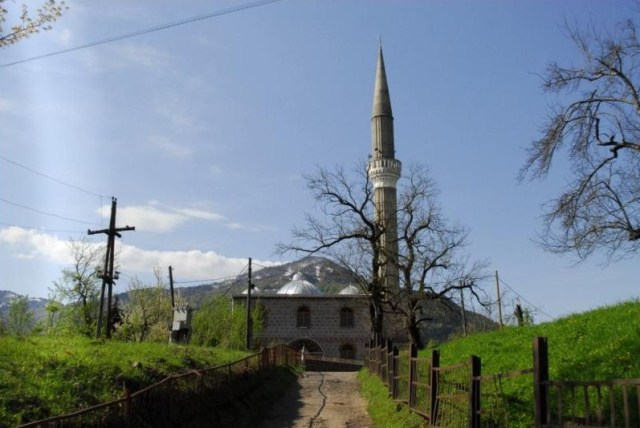 Didachara Mosque in the village of Didachara in Khulo District, Ajara