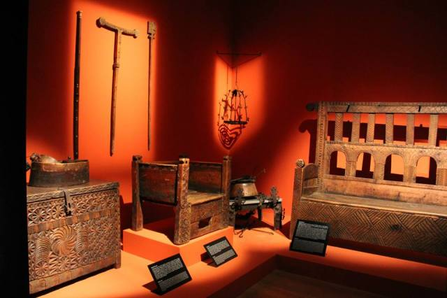 Display at the Svaneti Museum of History and Ethnography. Photo courtesy of the National Museum of Georgia.