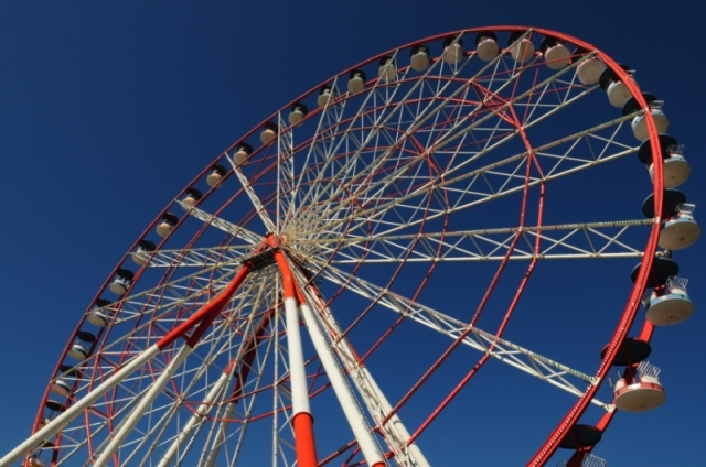 Ferris wheel on Batumi Boulevard in Batumi_2