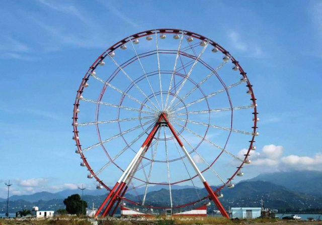Ferris wheel on Batumi Boulevard in Batumi_4
