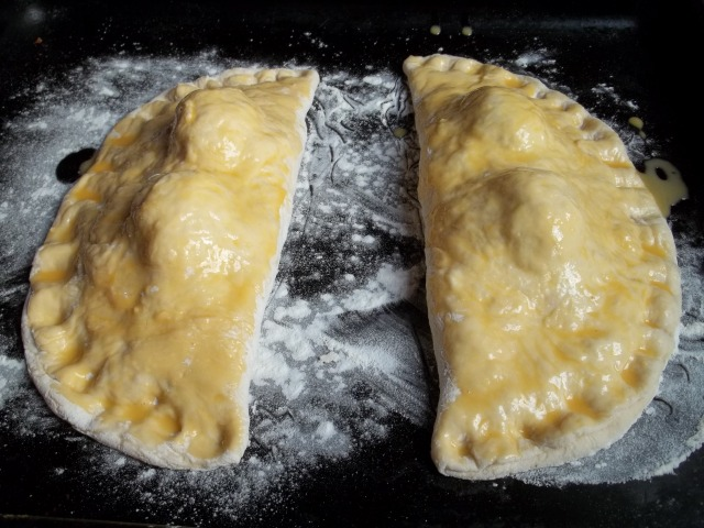 Glazed Gurian Khachapuri Ready for the Oven