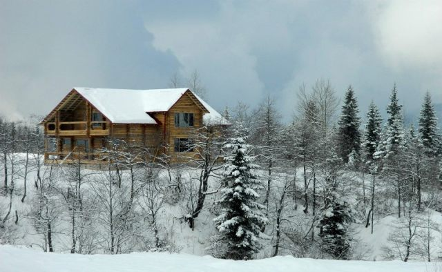 Goderdzi Pass Mountain Ski Resort Chalet