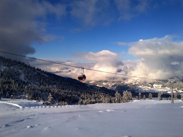 Goderdzi Pass Mountain Ski Resort in Ajara