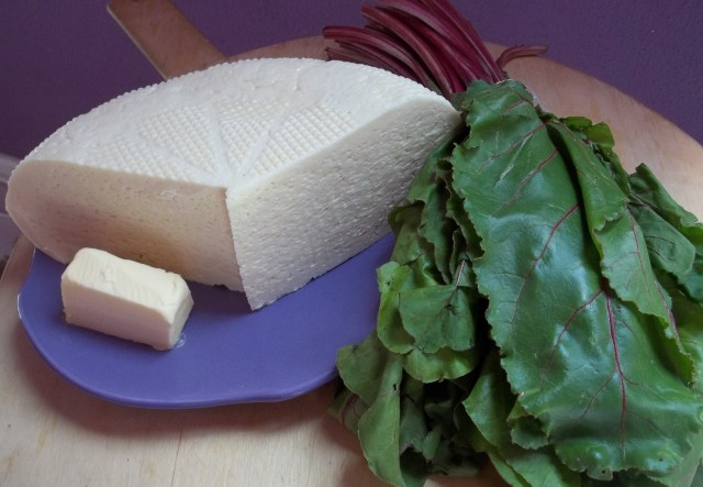 Ingredients for Chakhragina Khachapuri