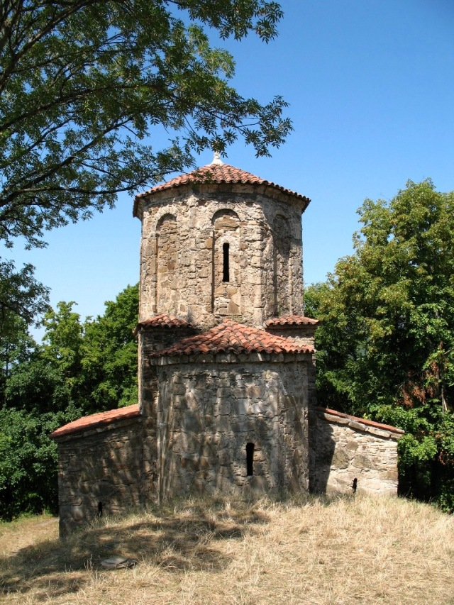 Church at Nekresi Monastery. Photo by Lidia Ilona, via Wikimedia Commons.