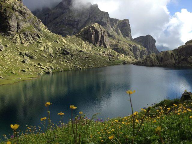 Lake Tobavarchkhili. Photo by Goga Khachidze.
