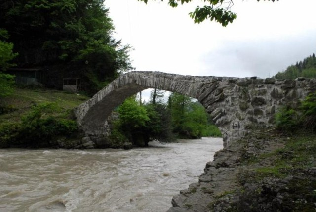 Makhuntseti Bridge in Keda District of Ajara