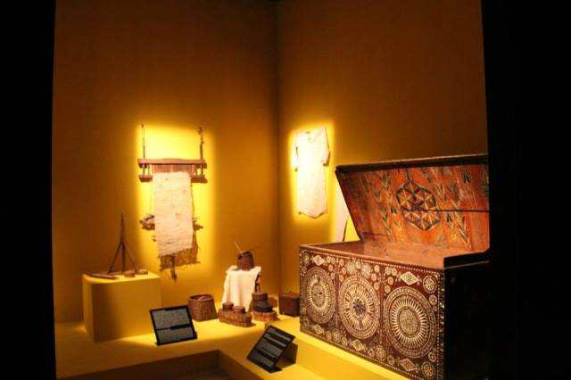 Svaneti Museum of History and Ethnography. Photo courtesy of the National Museum of Georgia.