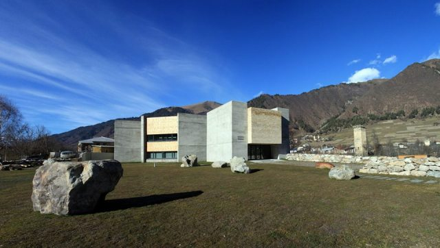 The Svaneti Museum of History and Ethnography in Mestia. Photo courtesy of the National Museum of Georgia.