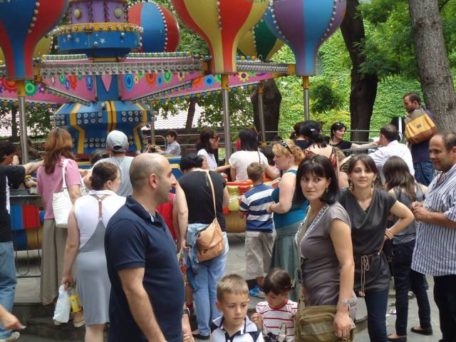 Amusement Park inside  Tbilisi Zoo