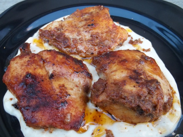 Chicken with Svanetian Salt and Mayonnaise