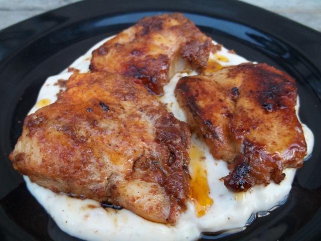 Chicken with Svanetian Salt