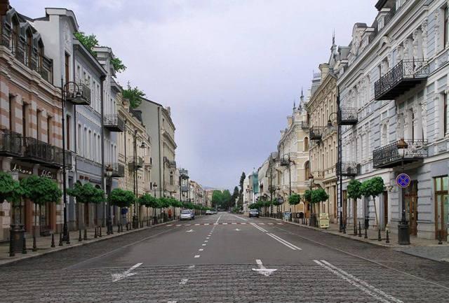 Davit Agmashenebeli Avenue in Tbilisi_9