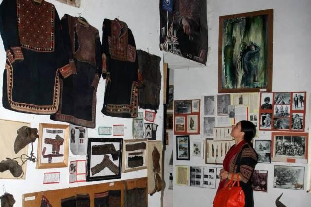 Display at the Khevsureti Ethnographic Museum_2