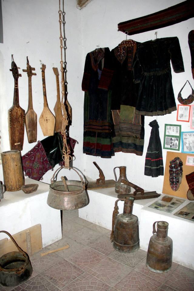 Display at the Khevsureti Ethnographic Museum_3