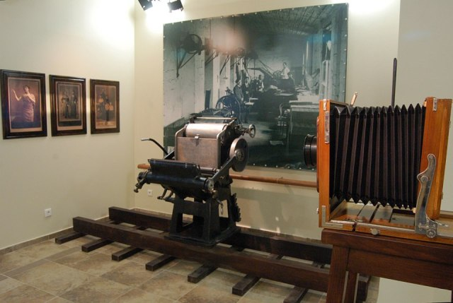 Exhibits in The Nobel Brothers Batumi Technological Museum