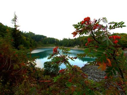 Green Lake in Adjara