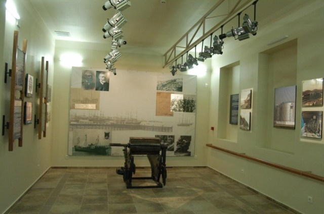 Photographs at the Nobel Brothers Batumi Technological Museum