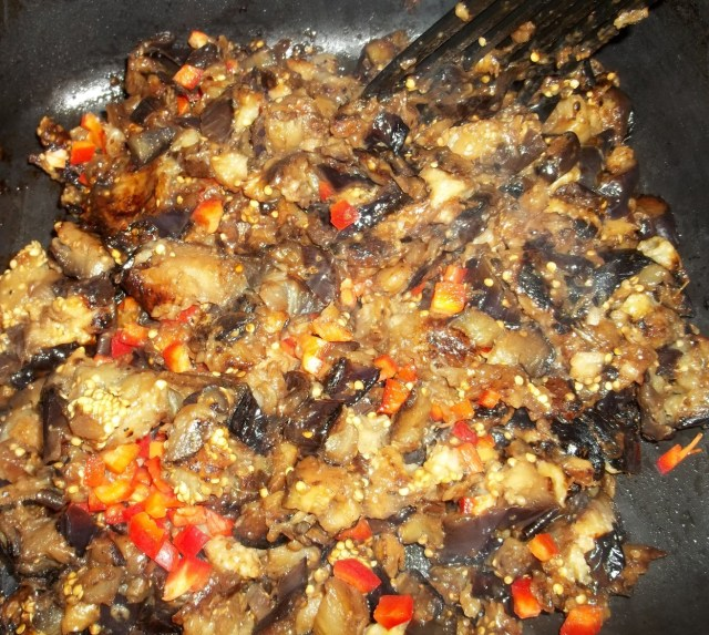 stirring-fried-eggplant