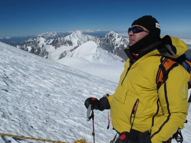 The President of Georgia climbing Mount Kazbegi. Photo courtesy of the President's Administration_7
