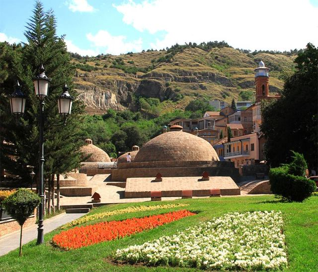 """""""Abanotubani"""" district of Tbilisi's Old Town. Photo courtesy of Tbilisi Government."""