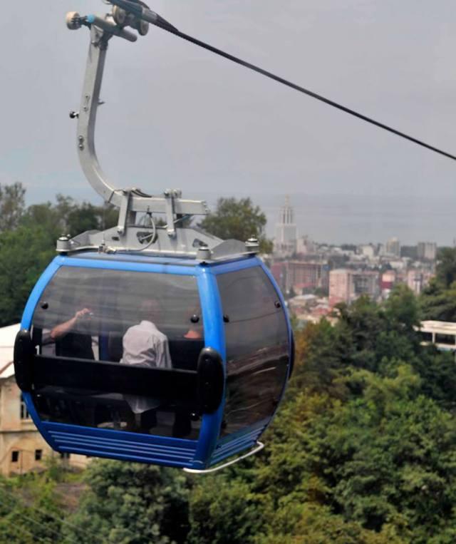 Aerial Tramway in Batumi
