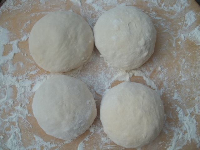 Balls of Dough for Kubdari Recipe