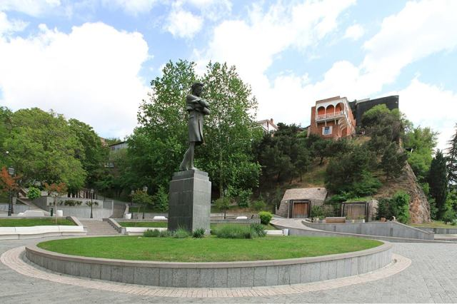 Baratashvili Square in Tbilisi