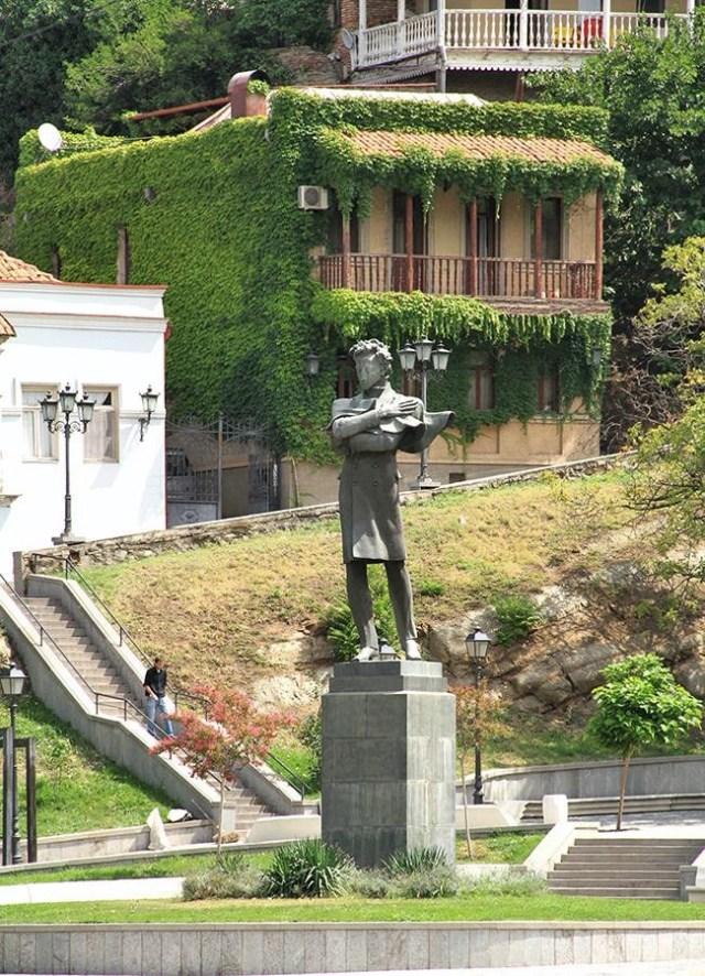 Baratashvili Square in Tbilisi