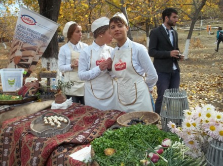 Cheese Festival Tbilisi 19 October 2013