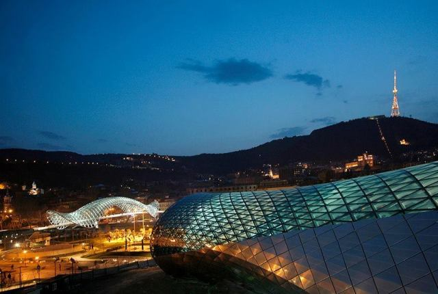 Concert Hall and Exhibition Center in Tbilisi_12