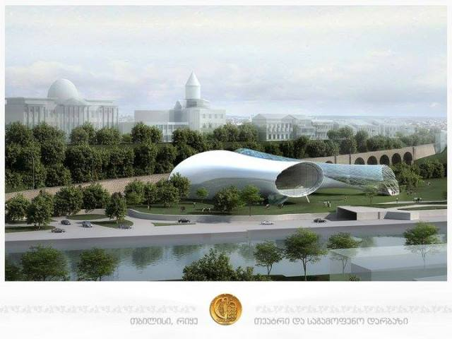 Concert Hall and Exhibition Center in Tbilisi_3