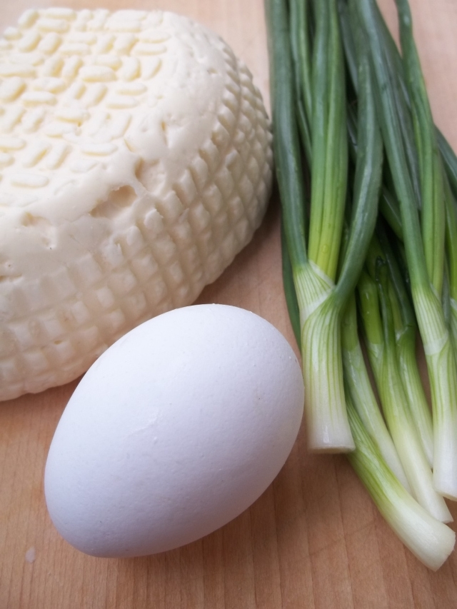 Ingredients for Svanetian Khachapuri