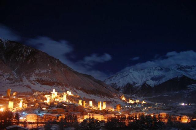 Mestia in Svaneti Region