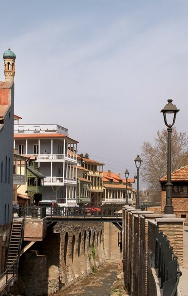 Leghvtakhevi, in the Bath District (Abanotubani) of Tbilisi's Old Town