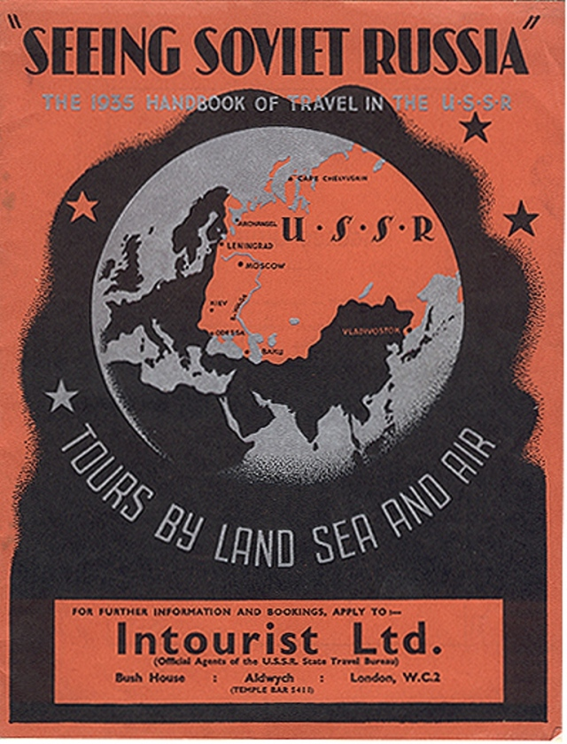 Stalin's Soviet Union Tourism Advertisements for Foreigners in 1930s (2)