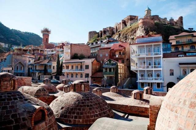 Tbilisi's Old Town. Photo courtesy of Tbilisi Government.