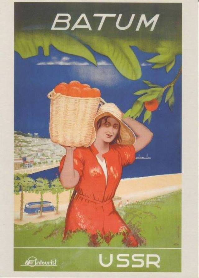 Tourism Promotion in Georgia in Soviet Times_2