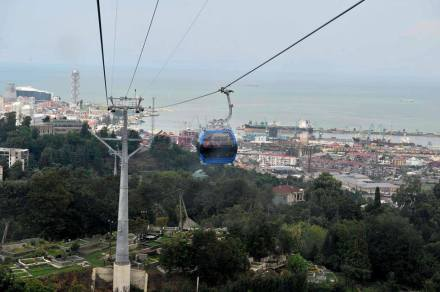 View of Batumi from the Aerial Tramway