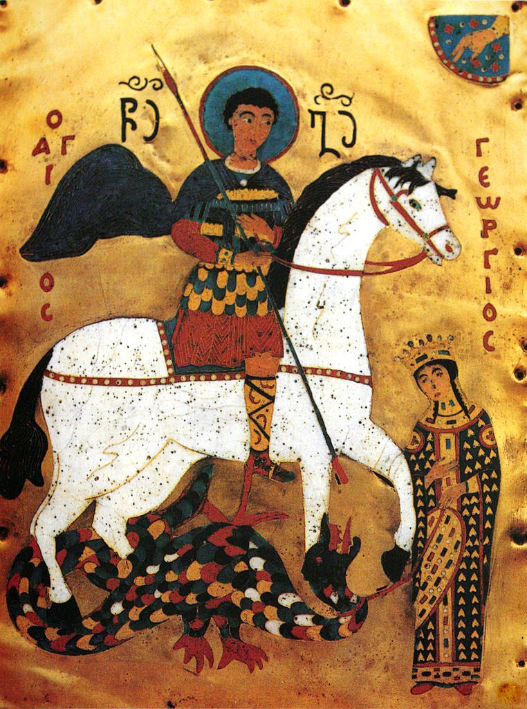 the life and sainthood of saint george Miracle in the church of st george  the holy baptism of the orthodox  christians in order to inherit eternal life, as i hope  miracles: the sick turkish  woman.