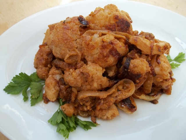 Cauliflower with Walnuts