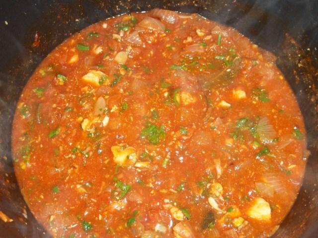 Cooking Chakhokhbili