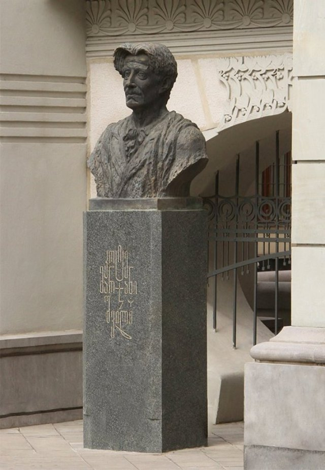 Kote Marjanishvili (კოტე მარჯანიშვილი). Photo courtesy of Tbilisi Government.