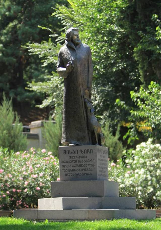 Mihály Zichy. Photo courtesy of Tbilisi Government.