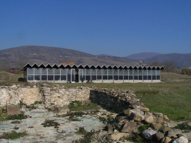 Protective structure at Dzalisa Archaelogical Site