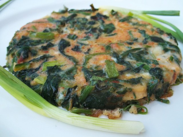 Spinach with Eggs - Copy